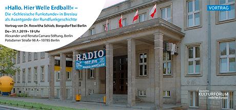 Das 1925 erbaute Funkhaus des Breslauer Senders wird auch heute noch von Radio Wrocław genutzt.