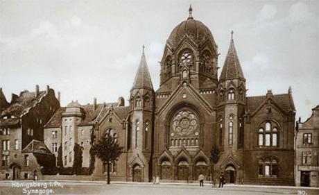 Synagoge in Königsberg um 1900