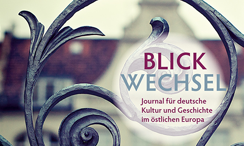 Cover Blickwechsel 2015